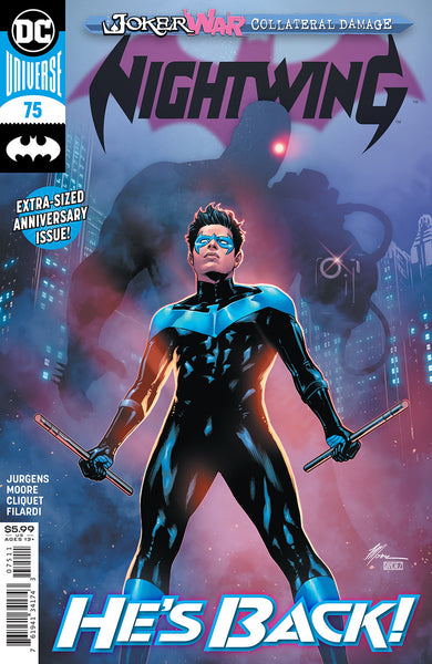 NIGHTWING #75 CVR A TRAVIS MOORE (JOKER WAR)