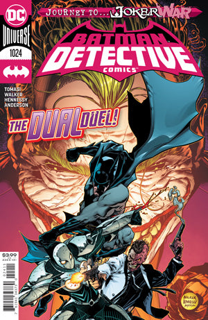 DETECTIVE COMICS #1024 CVR A BRAD WALKER (JOKER WAR)