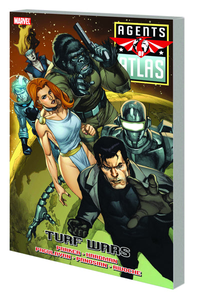 AGENTS OF ATLAS TP TURF WARS