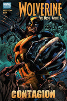 WOLVERINE BEST THERE IS PREM HC CONTAGION