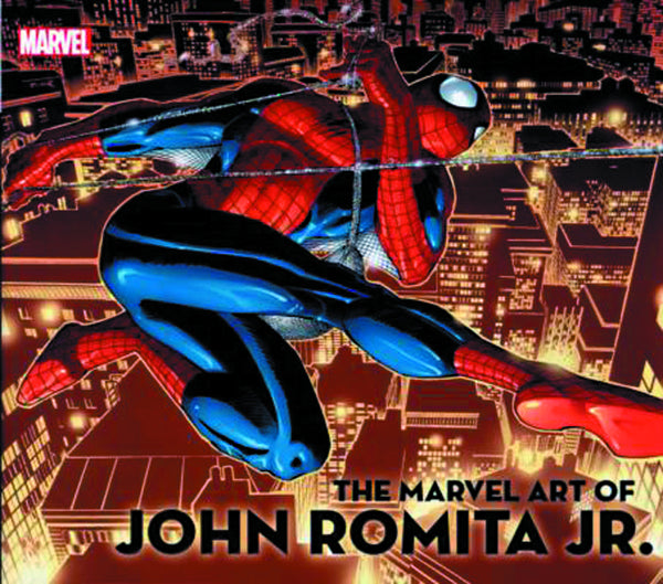 MARVEL ART OF JOHN ROMITA JR HC