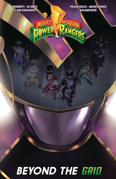 MIGHTY MORPHIN POWER RANGERS BEYOND GRID TP (C: 1-1-2)