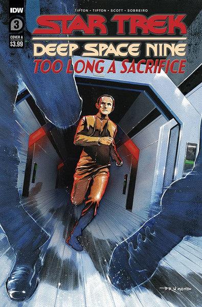 STAR TREK DS9 TOO LONG A SACRIFICE #2 CVR A DRUMOND