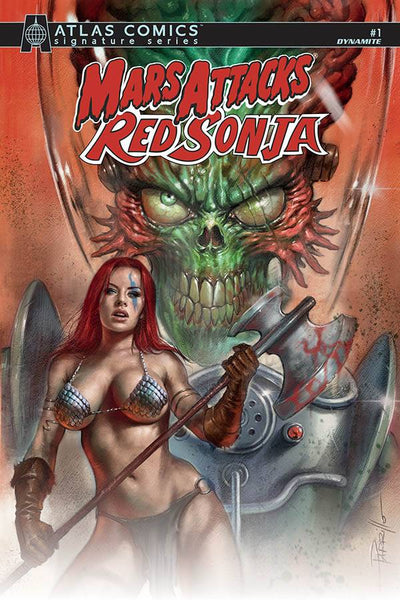 MARS ATTACKS RED SONJA #1 CVR A PARRILLO