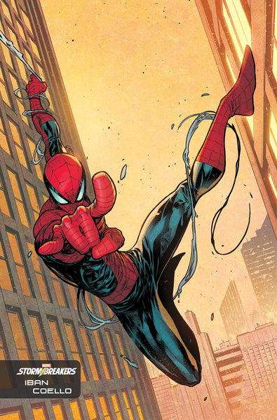AMAZING SPIDER-MAN #54 COELLO STORMBREAKERS VAR LR