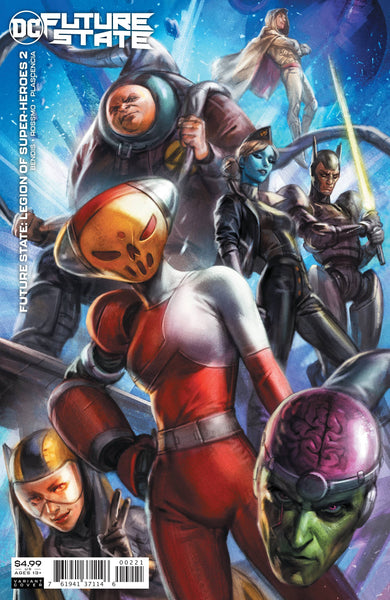 FUTURE STATE LEGION OF SUPER HEROES #2 CARDSTOCK VAR ED