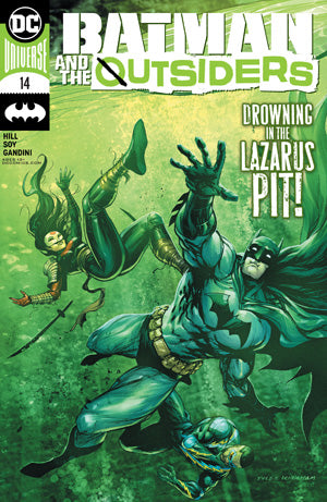 BATMAN AND THE OUTSIDERS #14 CVR A TYLER KIRKHAM