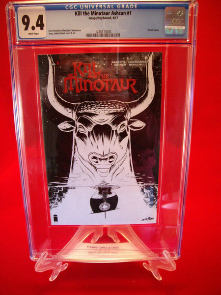 Kill The Minotaur Aschan #1 Ketnet Cover CGC 9.4 Image Comics