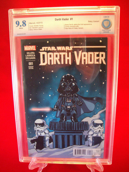Star Wars Darth Vader #1 Baby Variant Cover CBCS 9.8 Marvel Comics
