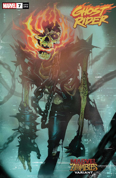GHOST RIDER #7 MUNDO MARVEL ZOMBIES VAR