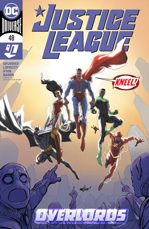JUSTICE LEAGUE #48 CVR A DAVID MARQUEZ