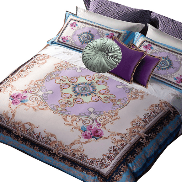 Bohemian in Spirit, Glamorous in Soul, Bohemian Versace Bedding Collection