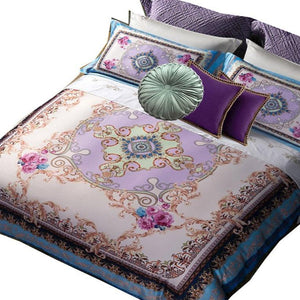 "Bohemian Versace Collection ""Lilac Periwinkle"" - Bohemian Glam Decor"