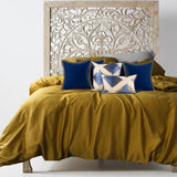 (9 Colors) Tencel Silken Bedding Collections - Bohemian Glam Decor