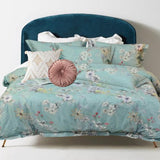 Cotton Rose Garden Collection ~ Powder Blue - Bohemian Glam Decor