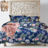 Cotton Rose Garden Collection ~ Boho Blue
