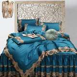 Boho Glam Winter Lace Teal
