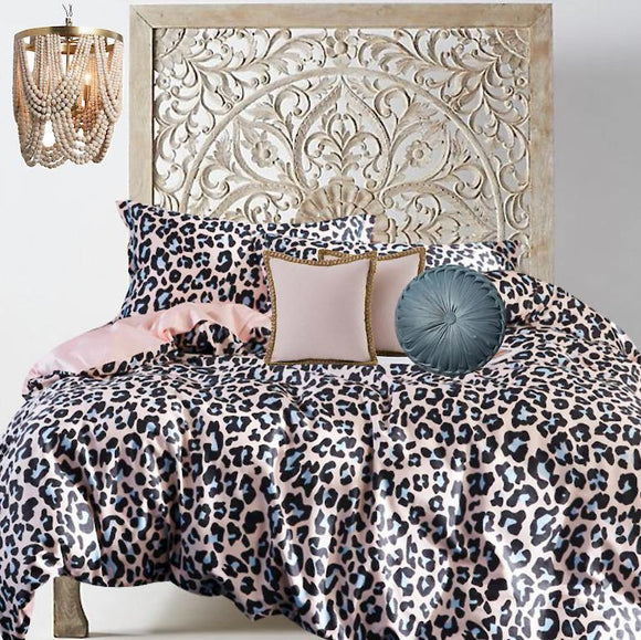 Boho Chic Cheetah - Bohemian Glam Decor