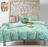 Boho Chic Cheetah Mint - Bohemian Glam Decor