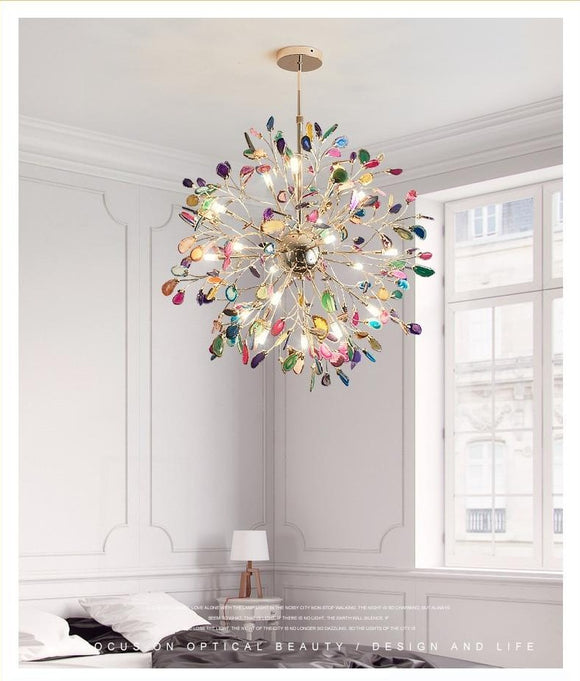 Agate Bush Chandelier