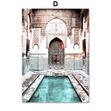 Moroccan Architecture & Pools
