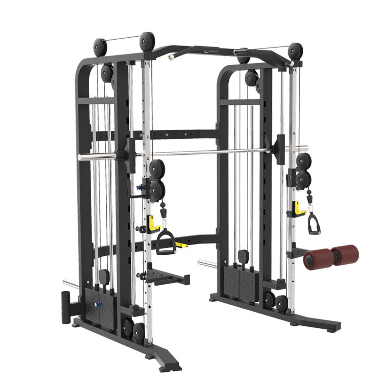 Smith Multi Functional GYM Equipment With Functional Trainer Squat Rack Machine