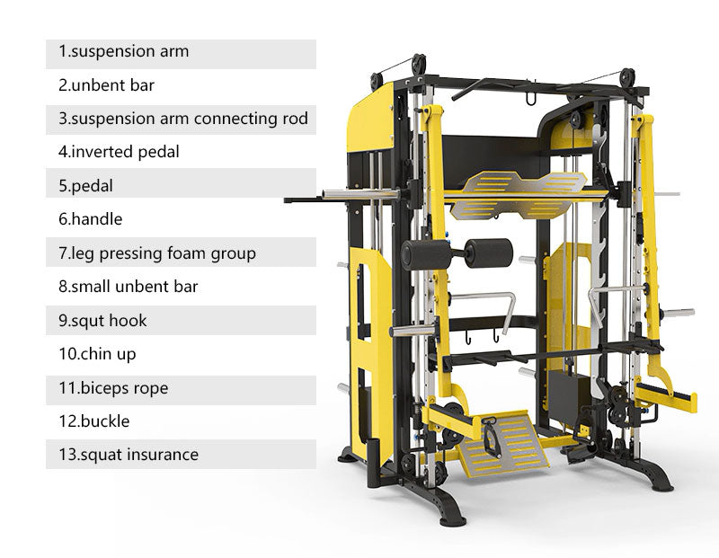 Fitness Equipments GYM Machine Multifunction Smith Machine