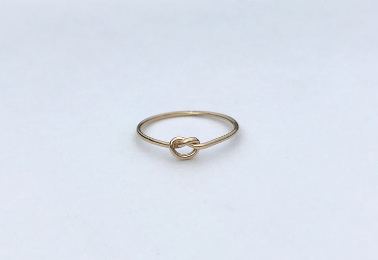 Gold Fill Love Me Knot Ring