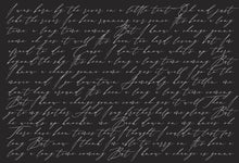 Load image into Gallery viewer, Black Custom Lyrics: Print