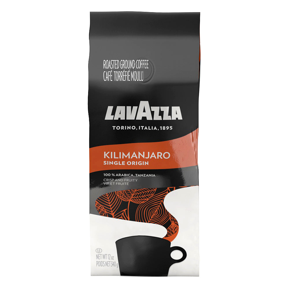 LAVAZZA KILIMANJARO MEDIUM ROAST 12OZ BAG 6PACK