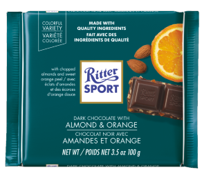 RITTER ALMOND & ORANGE 12 PACK 3.5OZ