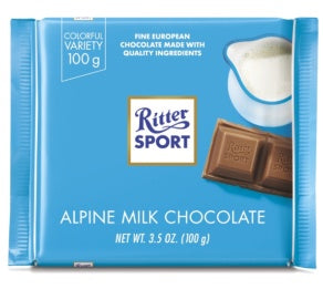 RITTER ALPINE MILK 12 PACK 3.5OZ