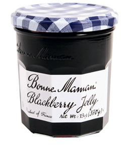 BONNE MAMAN BLACKBERRY JELLY 6PK 13OZ