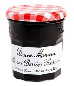 BONNE MAMAN MIXED BERRIES 6PK 13OZ
