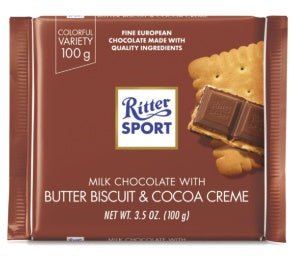 RITTER BUTTER BISCUIT 12 PACK 3.5OZ
