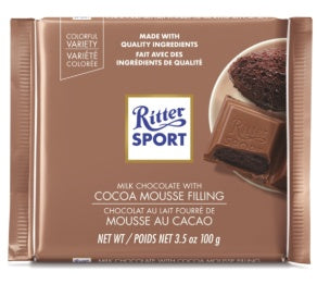 RITTER COCOA MOUSSE 12 PACK 3.5OZ
