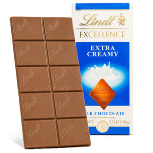LINDT EXCELLENCE EXTRA CREAMY 12PACK 3.5OZ