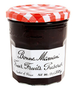 BONNE MAMAN FOUR FRUITS JELLY 6PK 13OZ