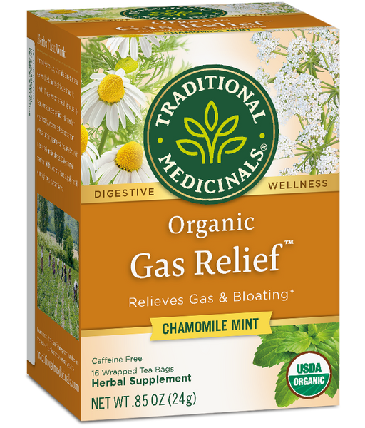 T.M TEA GAS RELIEF 6 PK X 16 TEA BAGS
