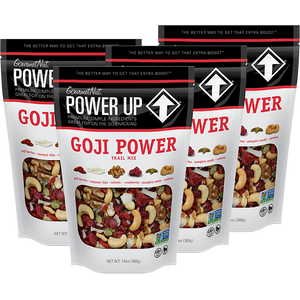 POWER UP GOJI POWER TRAIL MIX 6 PACK 13OZ