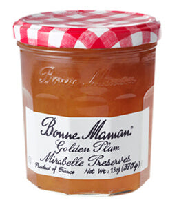 BONNE MAMAN GOLDEN PLUM MIRABELLE   6PK 13OZ