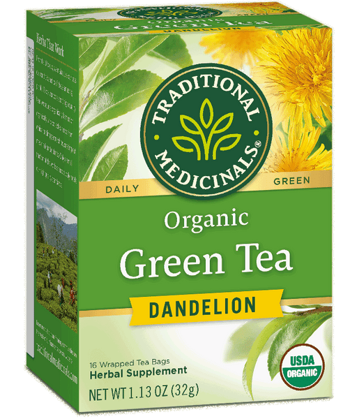 T.M GREEN TEA DANDELION    6 PK X 16 TEA BAGS