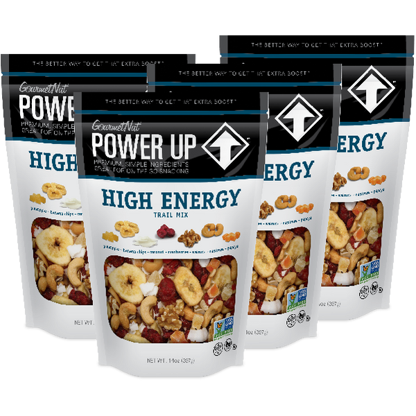POWER UP HIGH ENERGY TRAIL MIX 6 PACK 14OZ