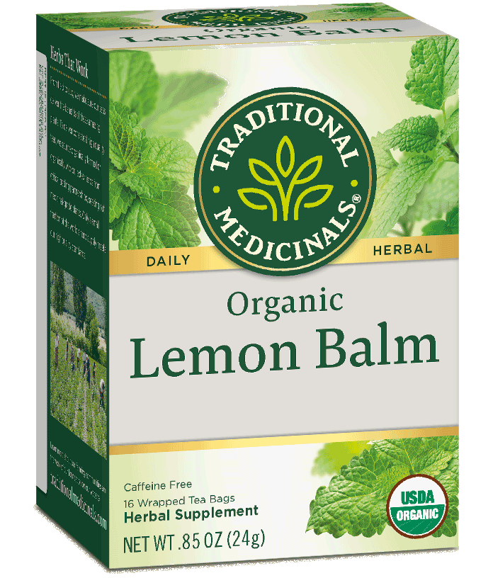 T.M TEA LEMON BALM  6 PK X 16 TEA BAGS