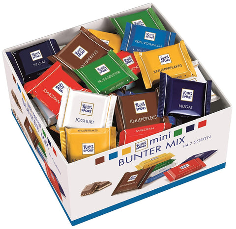 RITTER SPORT MINIS 84 COUNT