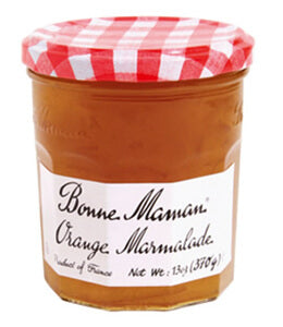 BONNE MAMAN ORANGE MARMALADE   6PK 13OZ
