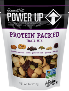 POWER UP PROTEIN PACKED TRAIL MIX 12 PACK 4OZ