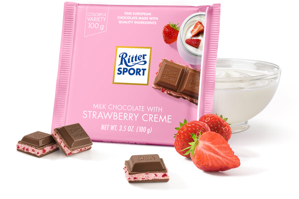 RITTER STRAWBERRY & CREME 12 PACK 3.5OZ