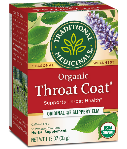 T.M TEA THROAT COAT 6 PK X 16 TEA BAGS