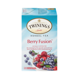 TWININGS TEA BERRY FUSION 6 PK 20 COUNT